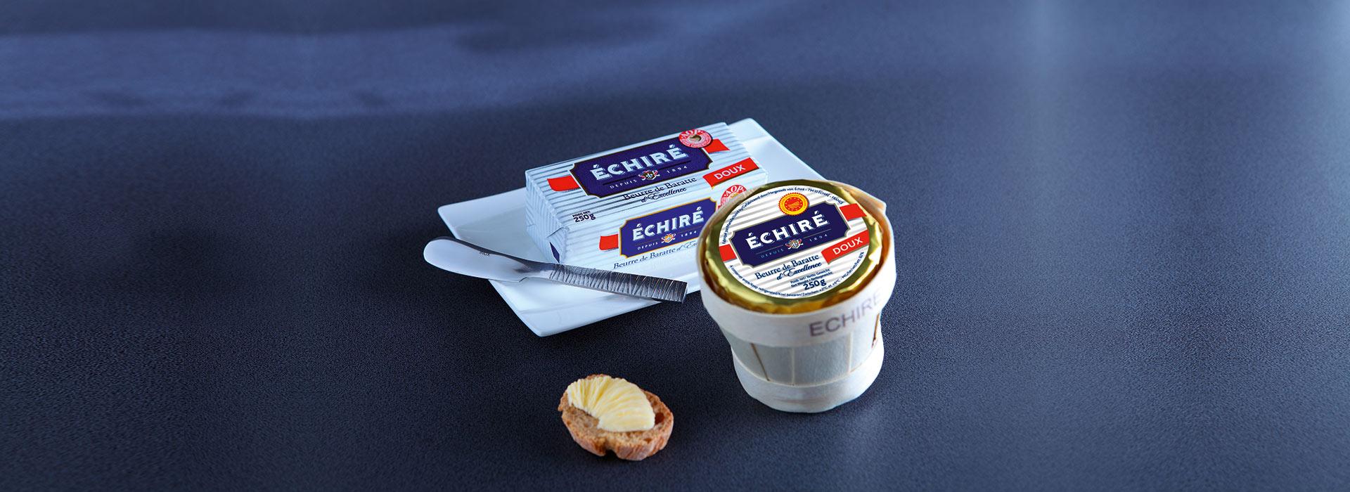 Beurre d'excellence Echiré - Beurre premium - Depuis 1894 - Echiré