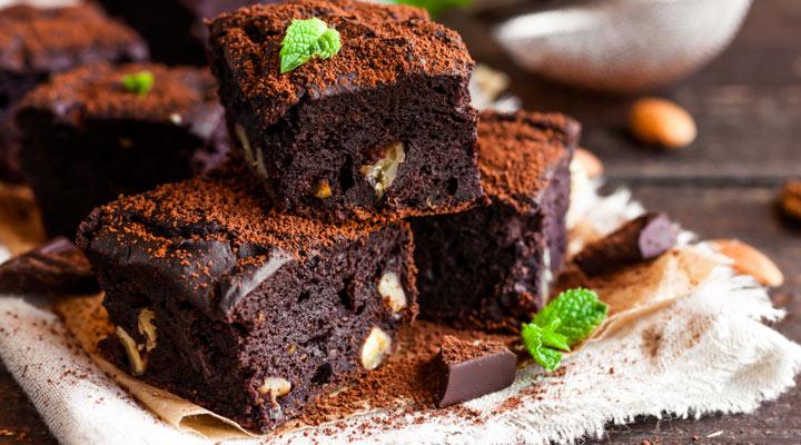 Brownies aux noix, noisettes et beurre demi sel Echiré