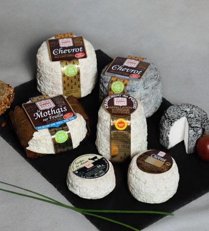 Sèvres et belle - Fromage de chèvre au lait cru - moulés à la louche - Coopérative laitière de la Sèvre