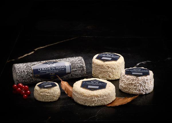 Gamme Atelier de la Sèvre - fromages de chèvre au lait cru - fromage au lait de vache pasteurisé - Atelier de la Sèvre