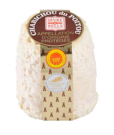Le Chabichou du Poitou AOP 150g - fromage de chèvre - lait cru - moulé à la louche - gamme coupe - Sèvre & Belle