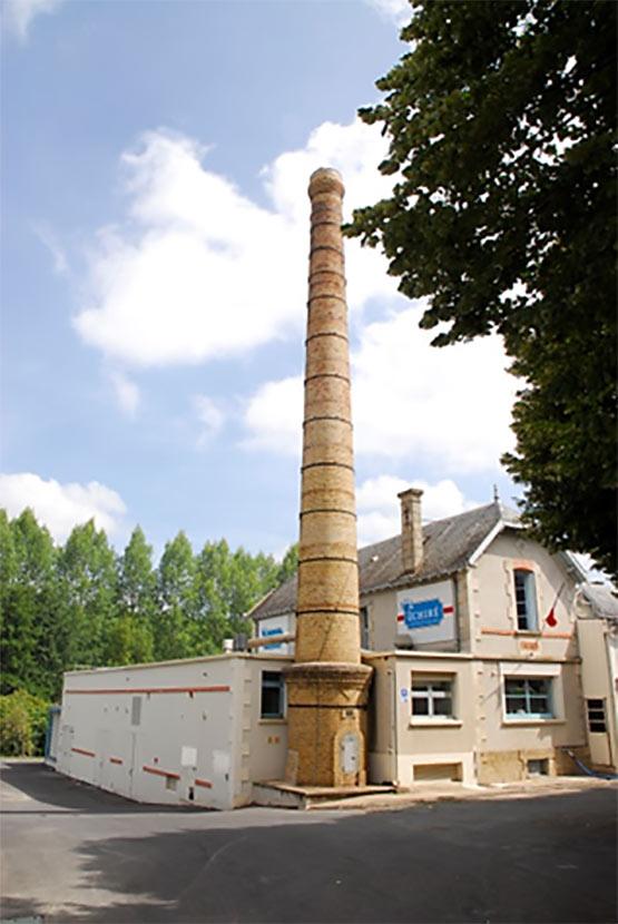 Site de production beurrerie d'Échiré - Beurre d'excelence depuis 1894