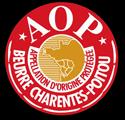 Logo Appellation d'Origine Protégée - Beurre Charentes-Poitou