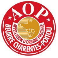 Logo Appellation d'Origine Protégée - Beurre Charentes-Poitou Beurres Échiré