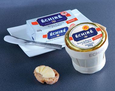 Plaquettes et mottes de beurre Échiré